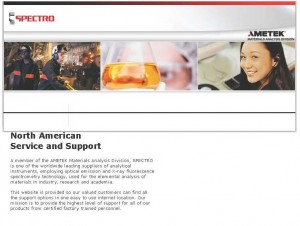 SPECTRO North American Service Support
