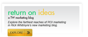 return on ideas – a TW marketing blog